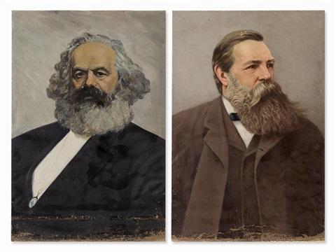 ماركس وأنجلس