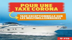 """حزب العمّال البلجيكي يطالب باستحداث """"ضريبة المليونير"""" للمساعدة في مكافحة الكورونا"""