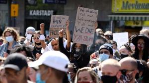 احتجاجات في لندن وبرلين على مقتل جورج فلويد في الولايات المتحدة