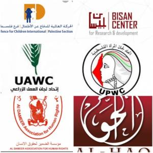 الجبهة الديمقراطية ، قرار الاحتلال اغلاق ست مؤسسات، إعلان حرب على المجتمع المدني الفلسطيني