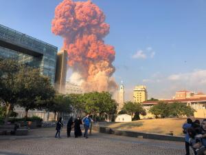 فلسطينيان بين شهداء انفجار بيروت