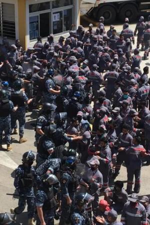 """بيان القطاع العمالي لـ """"الشيوعي"""" في بيروت حول قضية عمال رامكو"""