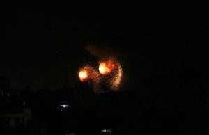 قصف صهيوني شمال قطاع غزة بزعم الرد على إطلاق بالونات مفخخة