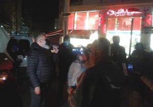 تظاهرة في احياء صور احتجاجاً على ارتفاع سعر الدولار