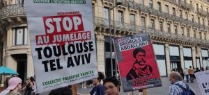 تجمع حاشد في تولوز دعمًا لقضية فلسطين ومطالبات بالإفراج عن جورج عبدالله