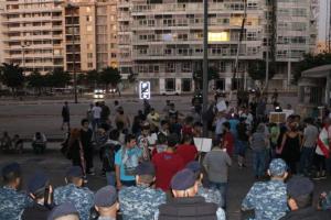 """مسيرة احتجاجية لـ """"الشيوعي"""" ضد الاحتكارات وغلاء الأسعار"""" (فيديو)"""