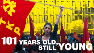 The Communist Party of Turkey is 101 years old